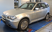 BMW X3 30sd 286LE chiptuning