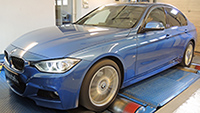 BMW F30 320xd 184LE chiptuning