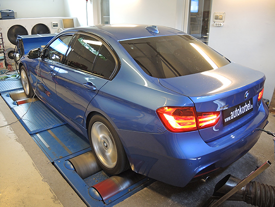 BMW F30 320xd 184LE Autokorbel chiptuning