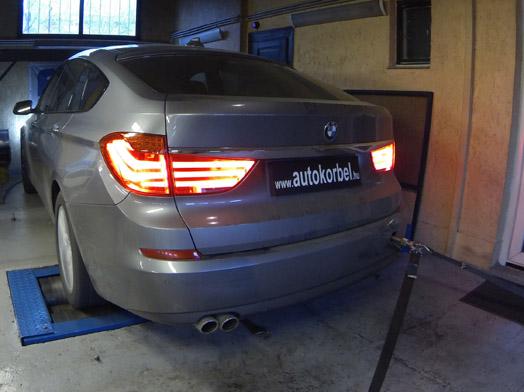 BMW 5 GT teljesítménymérés