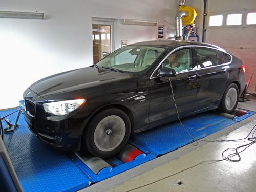 Teljesítménymérés MAHA LPS3000 BMW 530d GT