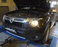 Dacia Duster chiptuning