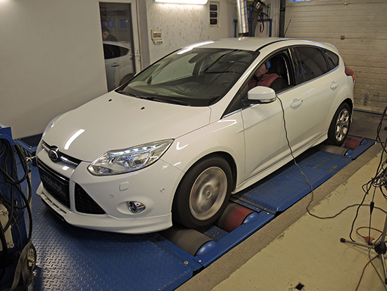 Ford Focus 1,6 TDCI 116LE 2 chiptuning