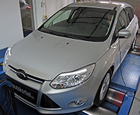 Ford Focus 1,6 TDCI 116LE chiptuning