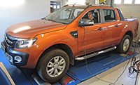 Ford Ranger Wildtrak 3,2 TDCI 200LE chiptuning