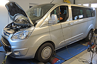 Ford Transit Custom 2,2 TDCI 125LE 2 chiptuning