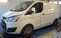 Ford Transit Custom 2,2 TDCI 125LE chiptuning
