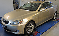 Lexus IS 220d 177LE chiptuning