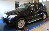 Mercedes ML 320 CDI chiptuning