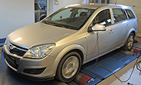 Opel Astra H 1,7 CDTI 110LE chiptuning