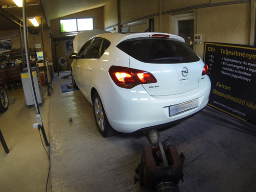 Opel Astra J A16LET chiptuning