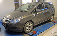 Opel Zafira 1,7 CDTI 125LE Race Chip Ultimate