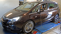 Opel Zafira Tourer 1,6T 170LE chiptuning