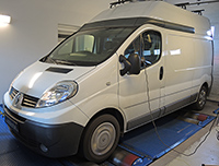 Renault Trafic 2,0 DCI 90LE chiptuning