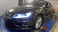 VW CC 2,0 TDI CR 184LE chiptuning