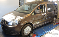 VW Caddy 1,6 TDI 102LE chiptuning