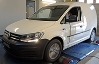 VW Caddy 2,0 TDI CR 102LE chiptuning