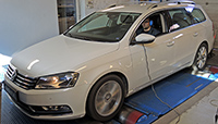 VW Passat B7 2,0 TDI CR 170LE chiptuning