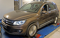 VW Tiguan 2,0 TDI CR 140LE chiptuning