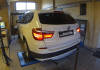 BMW X3 chiptuning (F25 20d 184LE xDrive)