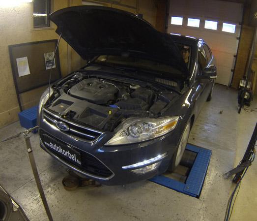 Ford Mondeo 2,0 Ecoboost teljesítménymérés