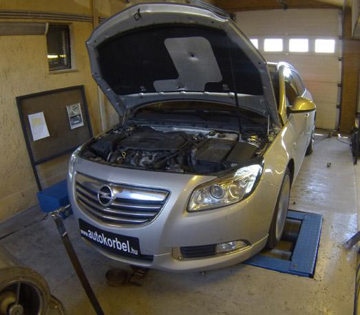 Opel Insignia 2,0 turbó 220LE chiptuning
