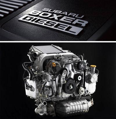Subaru Boxer diesel chiptuning