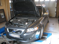 Volvo V50 2,0 D4 177LE chiptuning