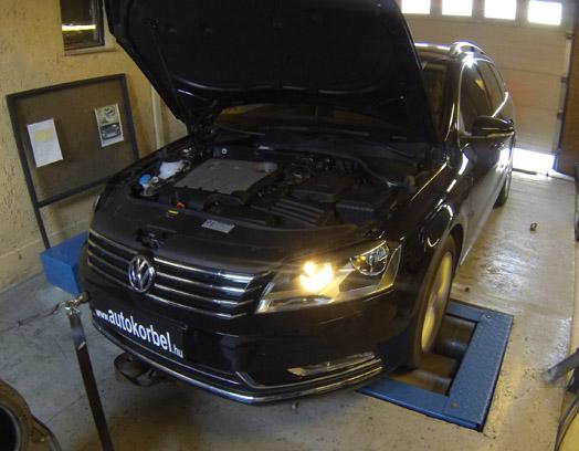 Volkswagen Passat 2,0 TDI CR BlueMotion chiptuning